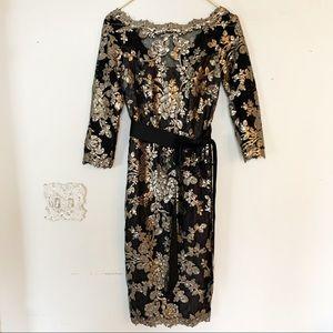 Tadashi Shoji Sequin Lace dress